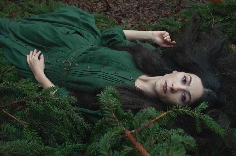 Fotokonst Lost in green