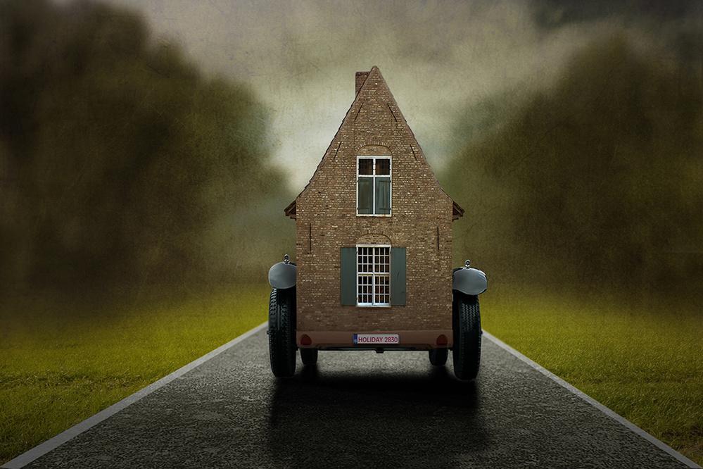 "Fotokonst Very ""Mobile HOME"""