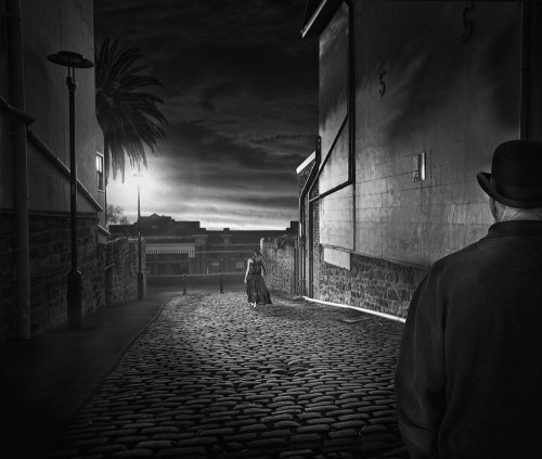 The alley by Adrian Donoghue