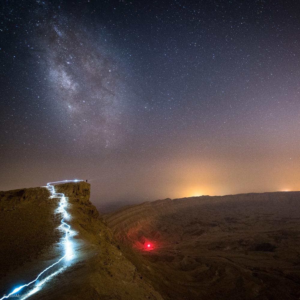 Fotokonst Craters Edge