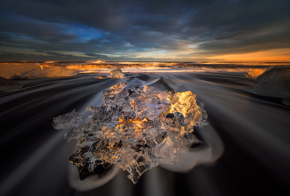 Fotokonst Jokulsarlon Diamond