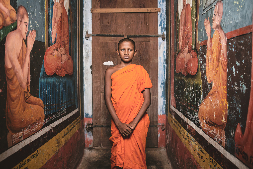 Poster The Little Monk