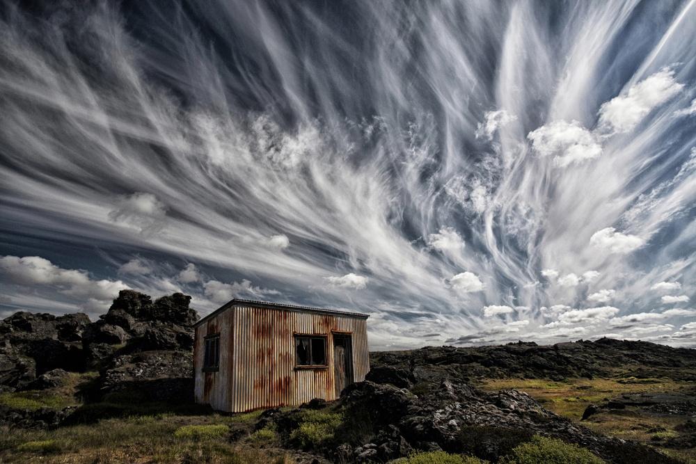 Fotokonst Fluffy Sky