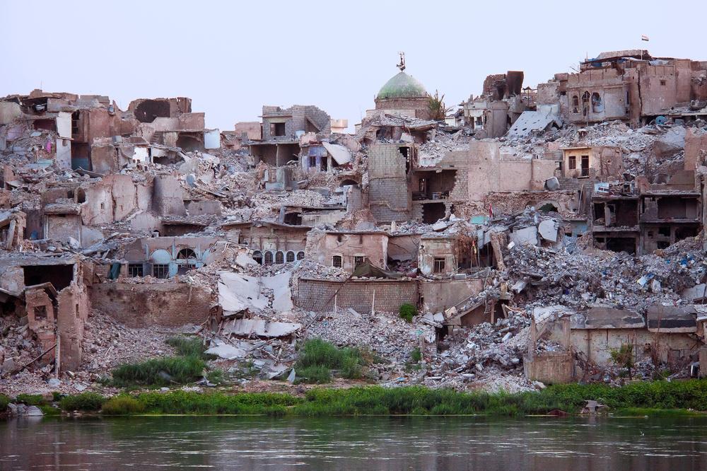 Fotokonst Mosul, The Old Nineveh.