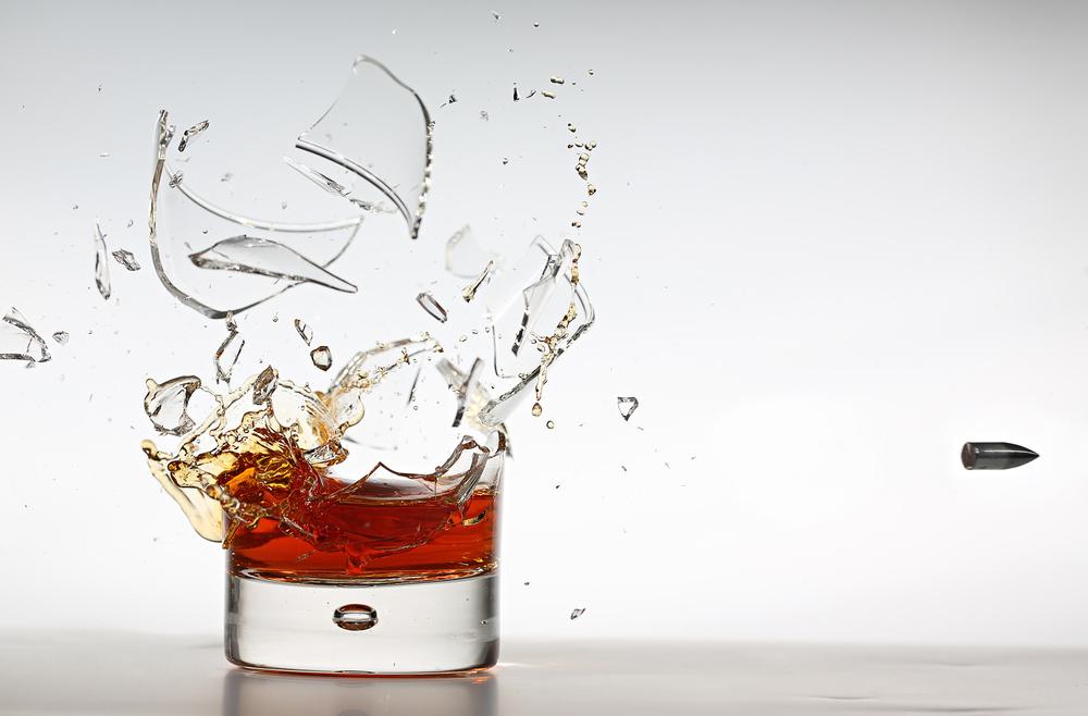Fotokonst Shot of Whisky