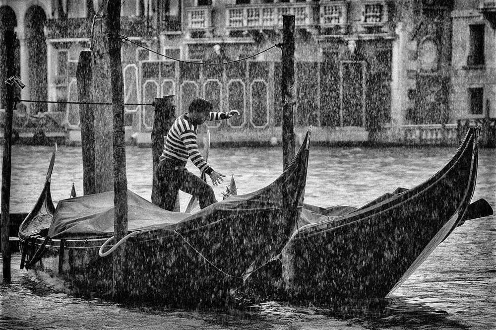 Fotokonst Gondola