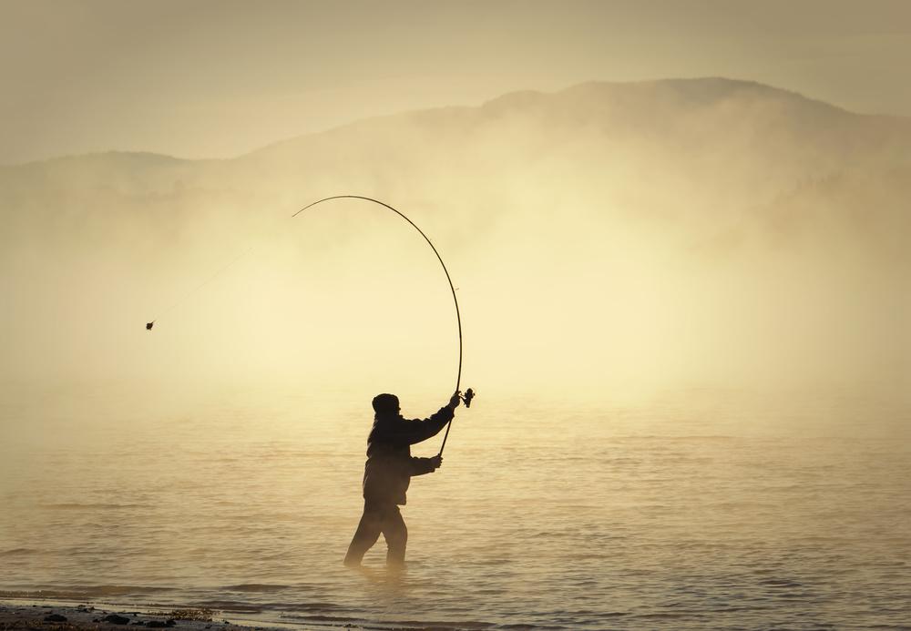 Fotokonst Fishing