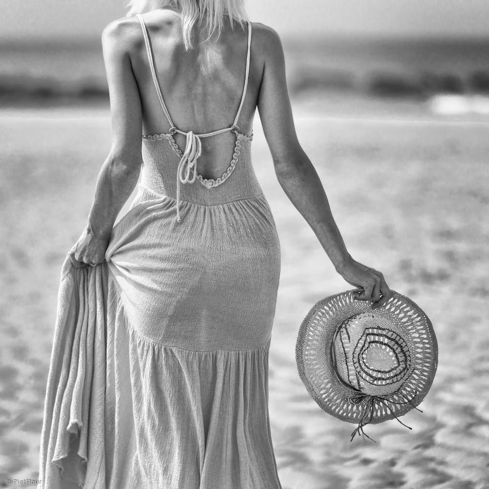 Fotokonst sea, sun, and sand