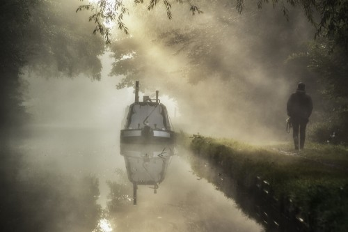Dawn on the Canal by Mark Passfield