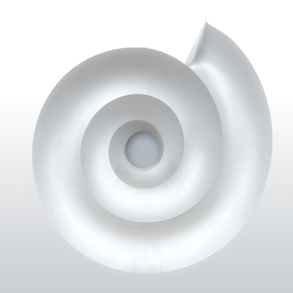 Poster White Mandala.