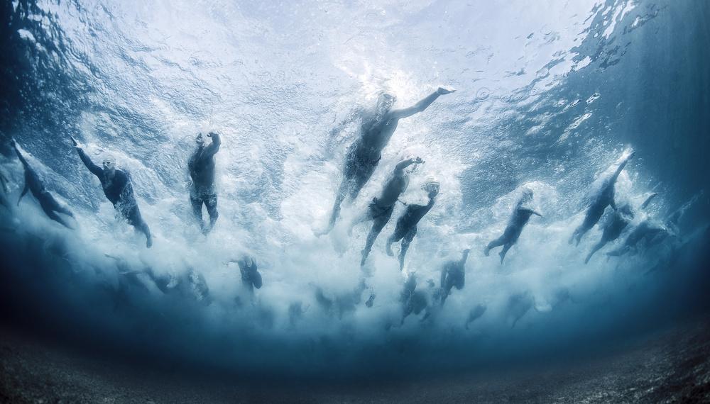 Fotokonst Swim