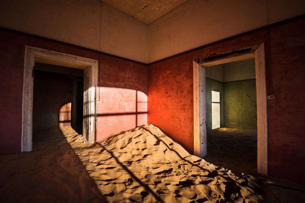 Fotokonst Kolmanskop - I