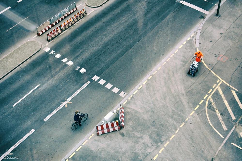 Fotokonst Light traffic
