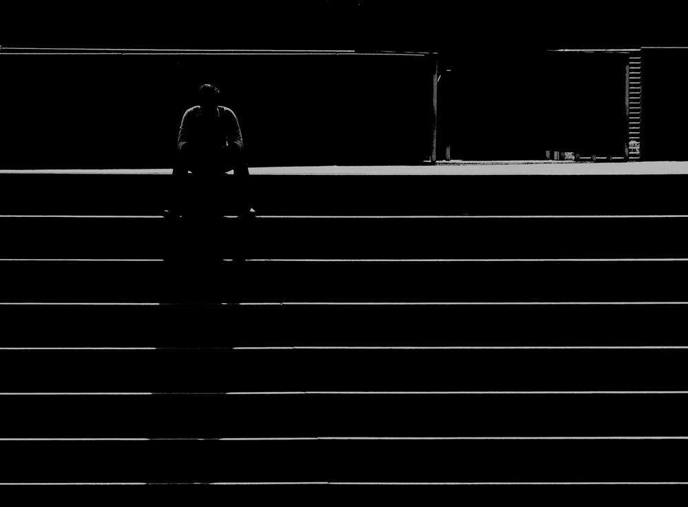 Fotokonst Light and shadows