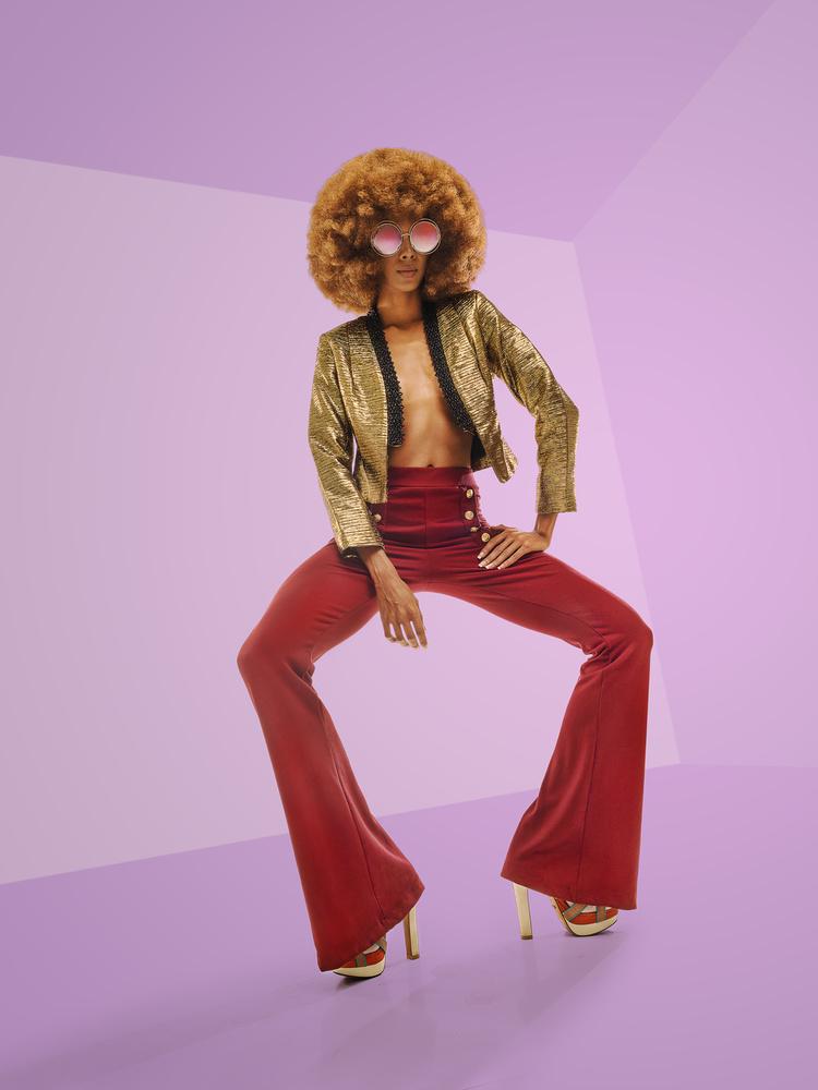 Fotokonst Disco Glamour #3