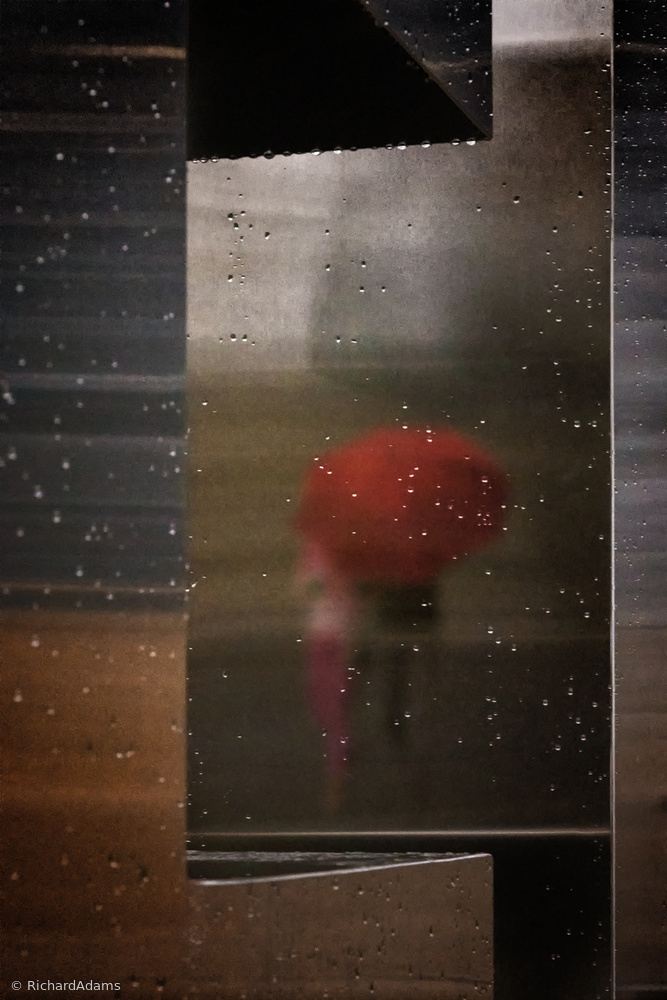 Fotokonst Rainy Reflection