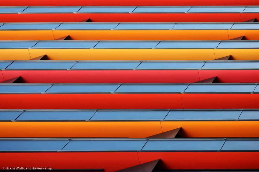 Fotokonst Colour Stripes