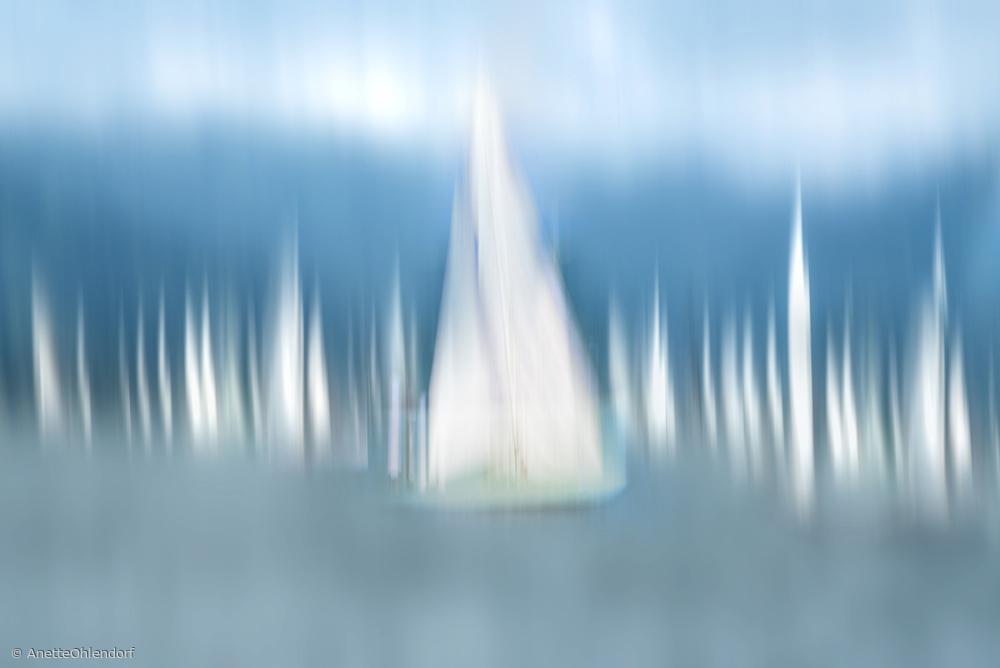Fotokonst Sailing