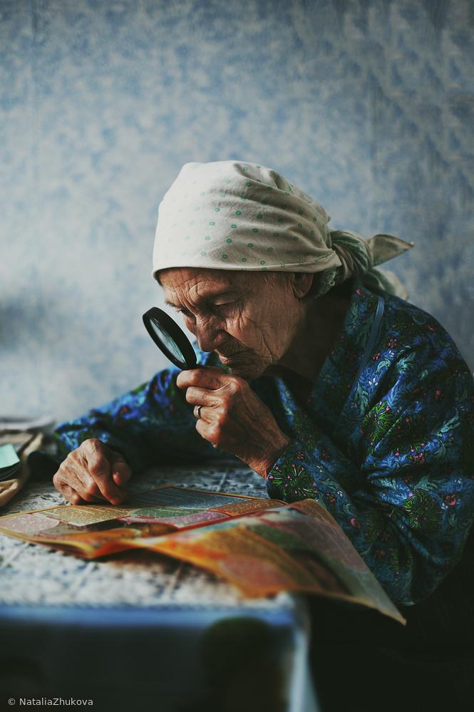 Fotokonst grandmother