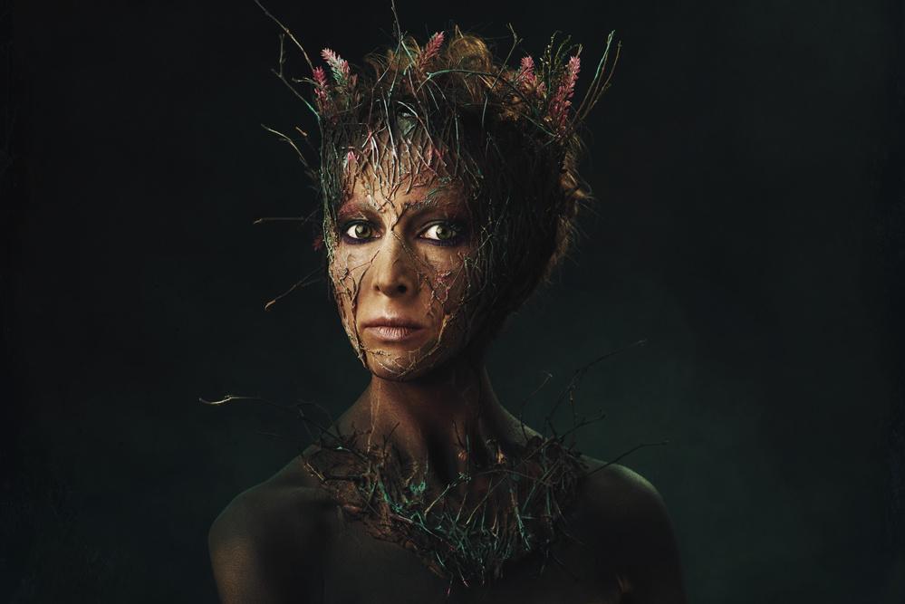 Fotokonst Forest fairy
