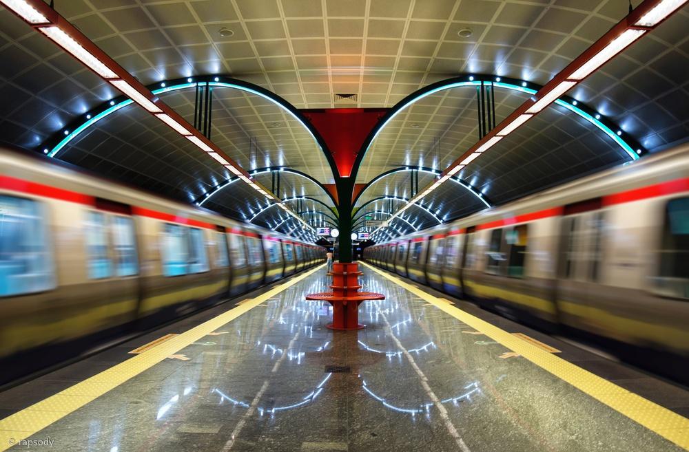 Fotokonst Metro