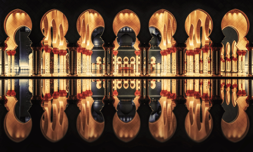 Reflections in the Mosque