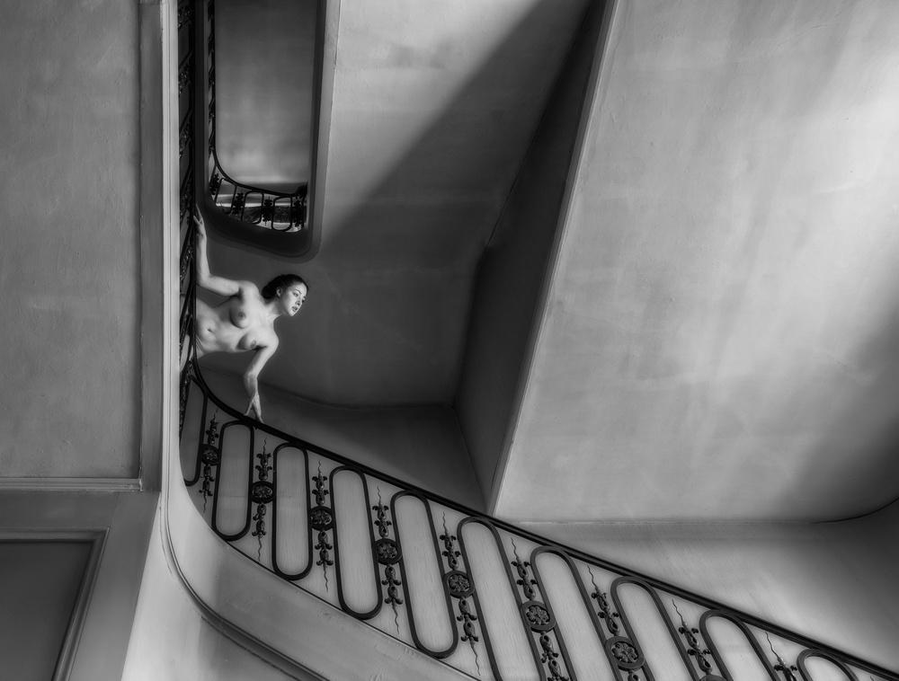 Fotokonst Stair