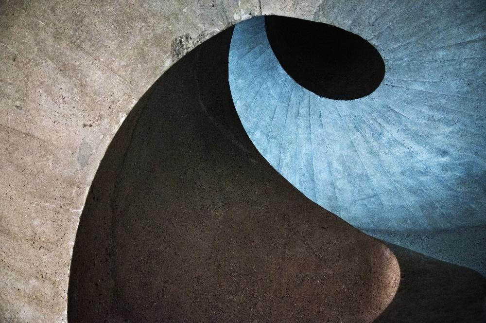 Fotokonst concrete wave