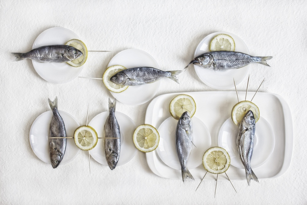 Poster Still Life with Fish