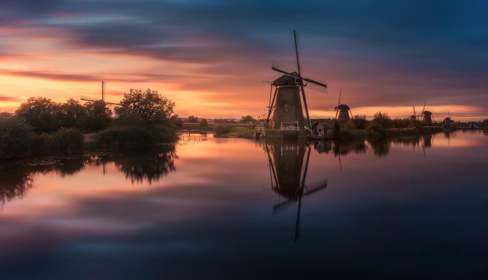 Fotokonst Windmills