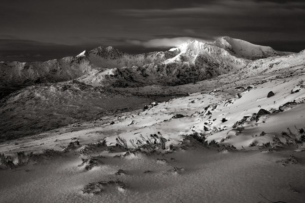 Fotokonst Welsh Winter...