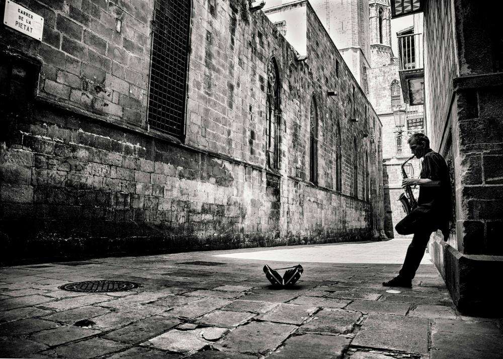 Fotokonst Silent Street
