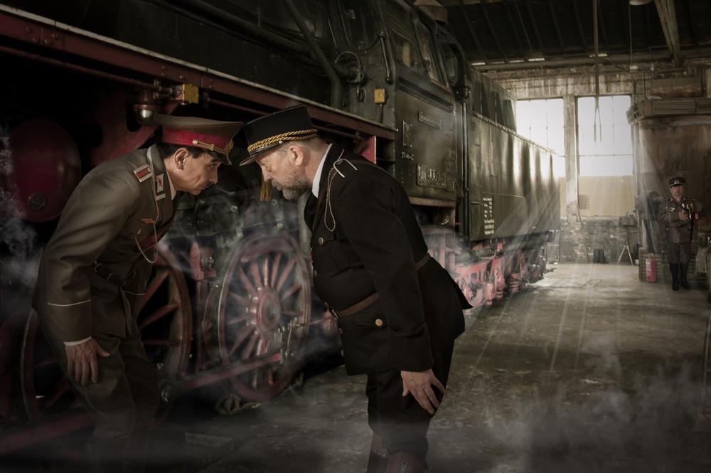 Fotokonst The arrival of the Italian II