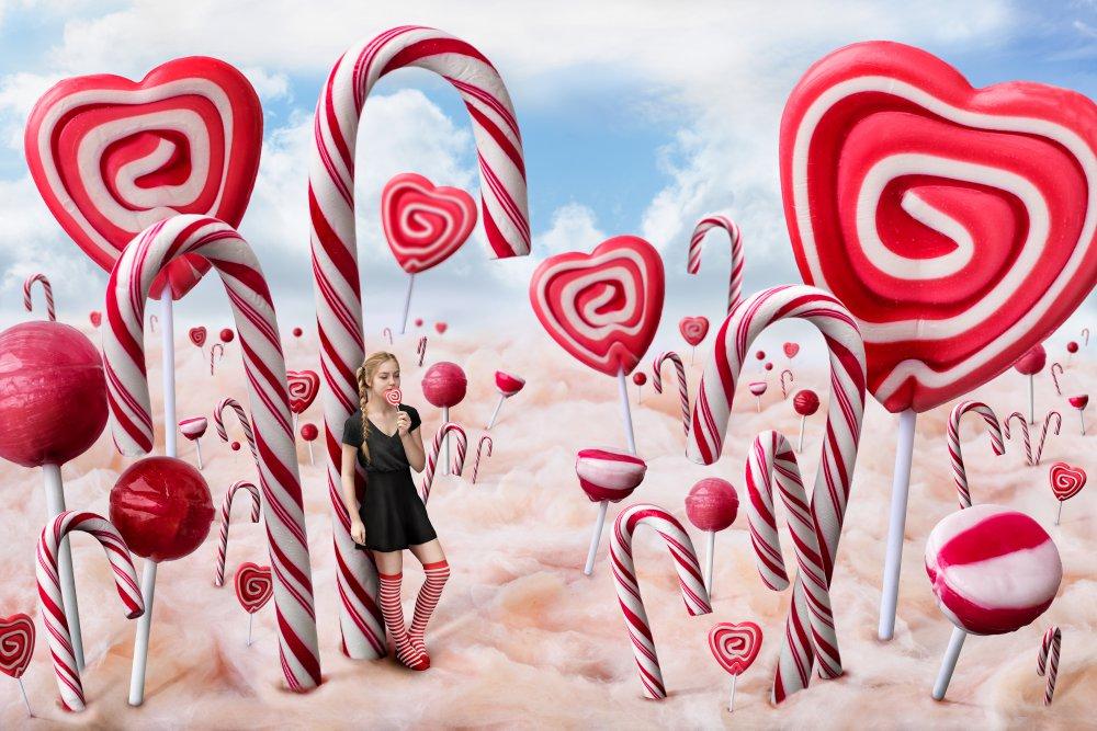 Fotokonst Candyland