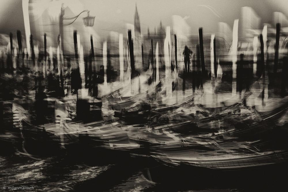 Fotokonst Symbolism in Venice