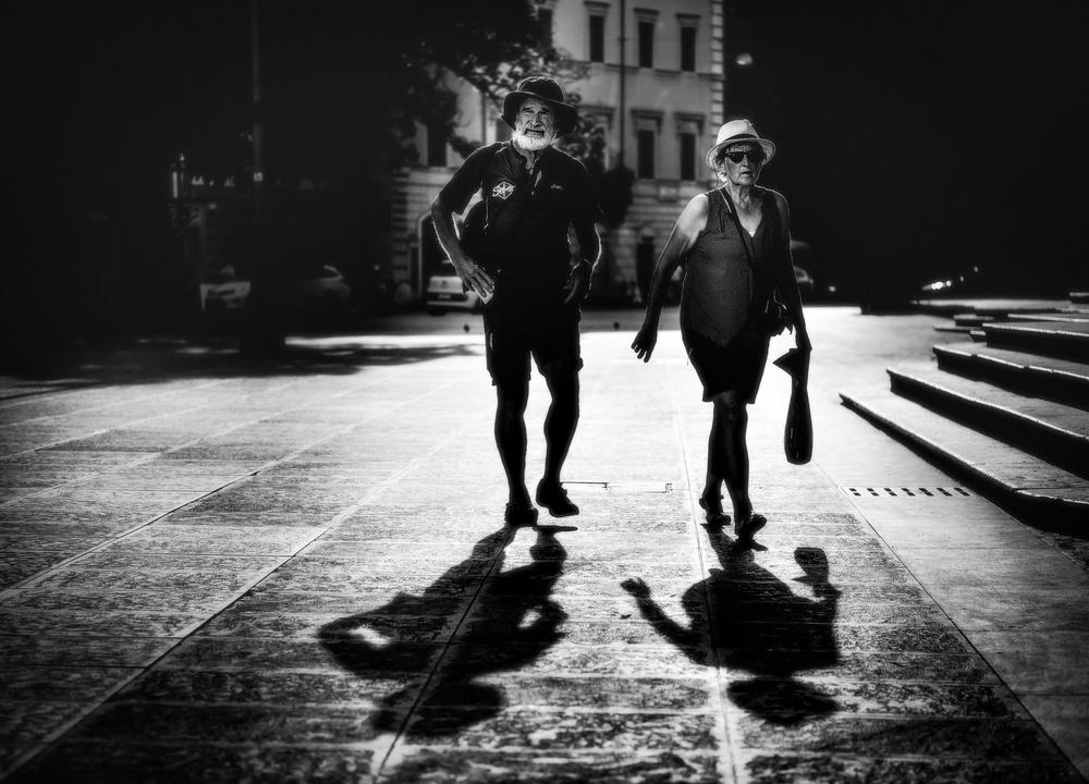 Fotokonst Husband and wife