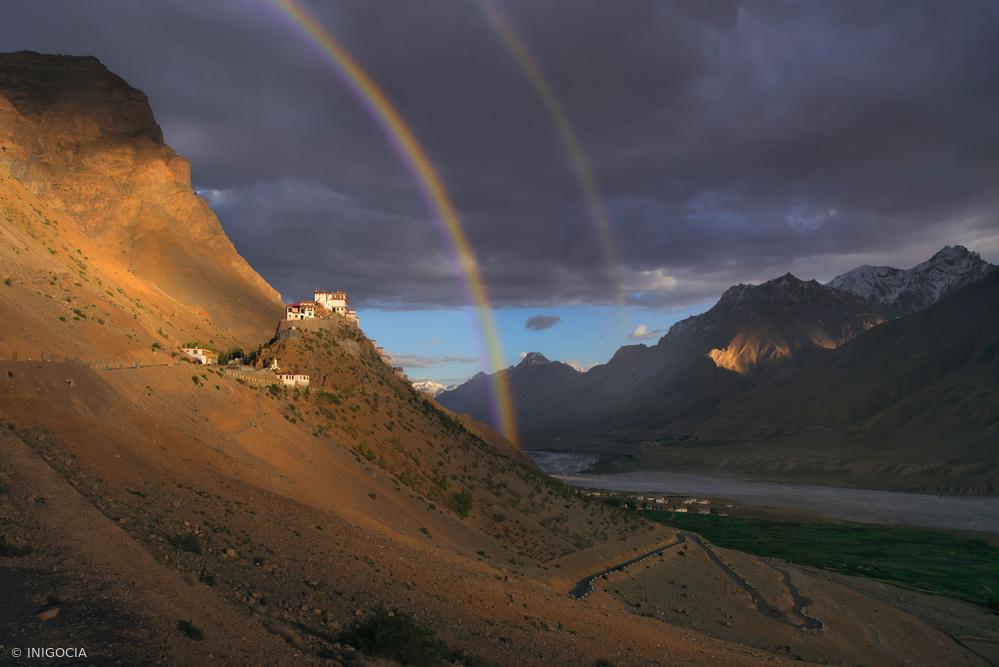 Fotokonst Kee Monastery