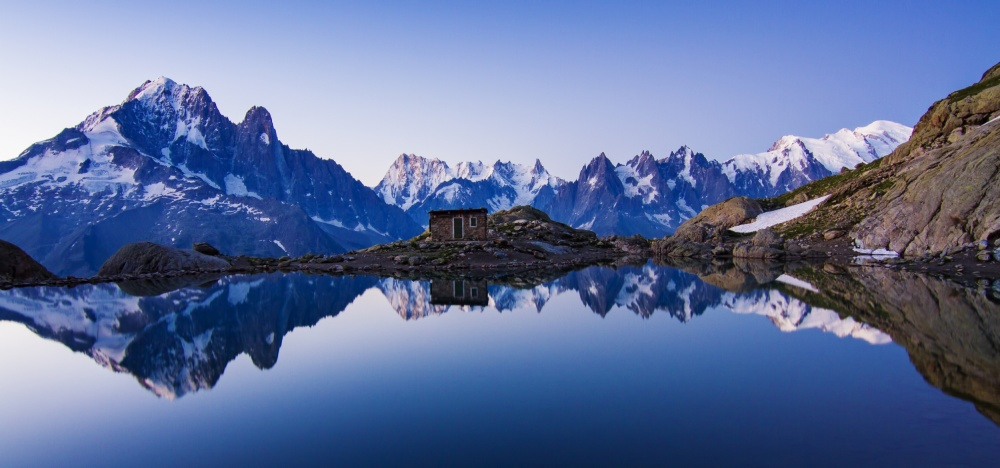 Poster Lac Blanc Panorama