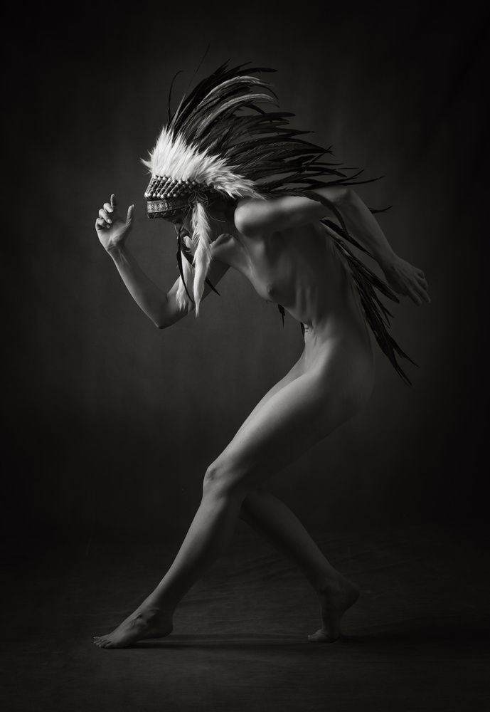 Fotokonst War Dance