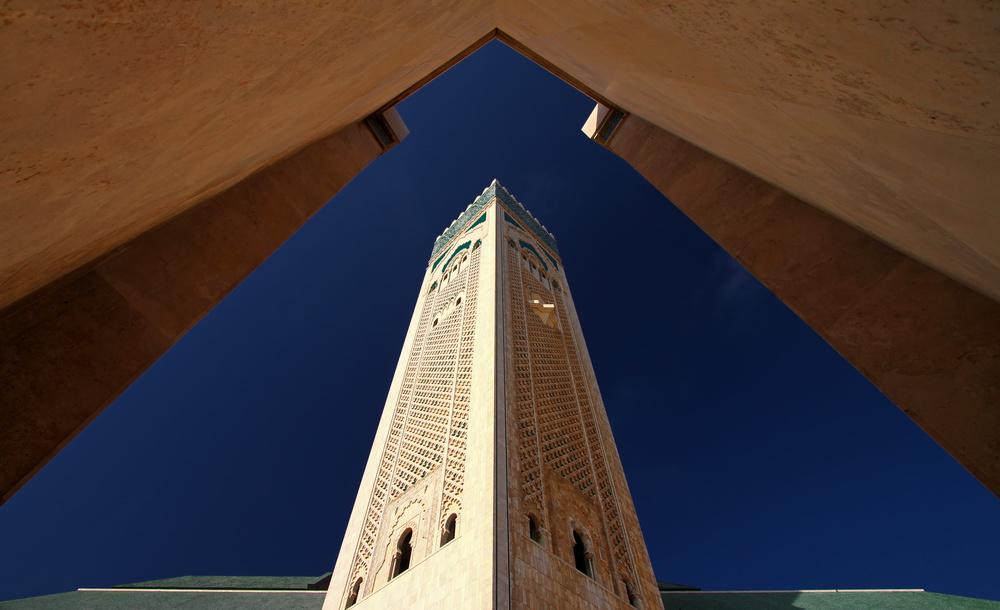 Poster Hassan II Mosque