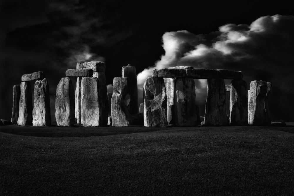 Poster The night of Stonehenge
