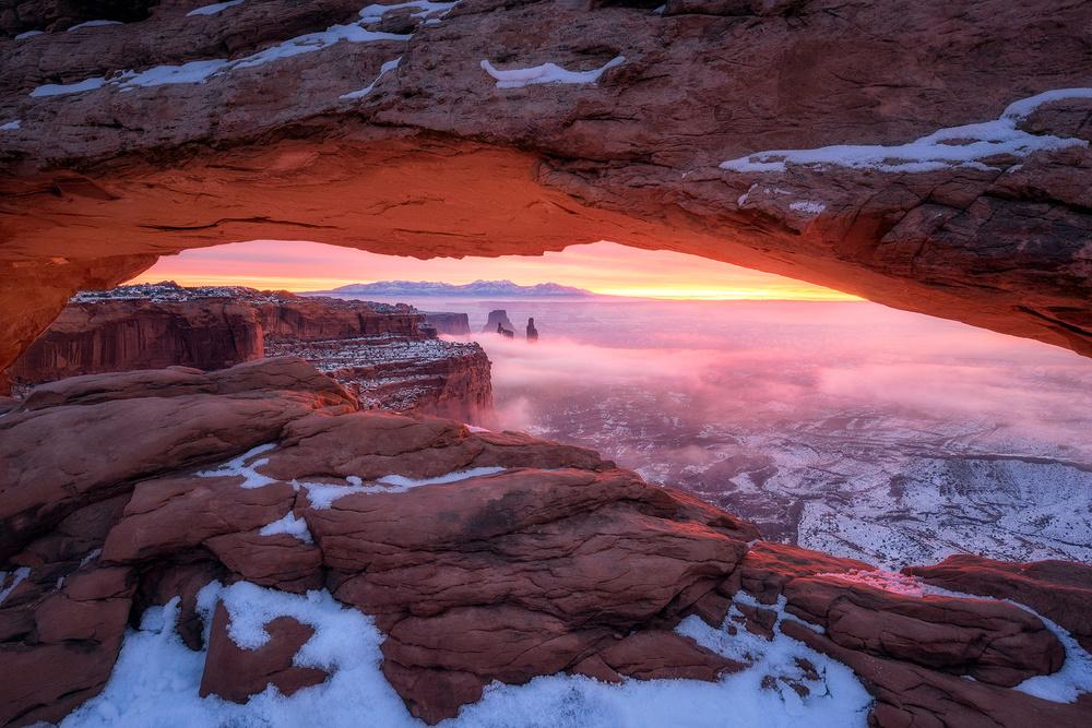 Fotokonst The Moment right before Sunrise