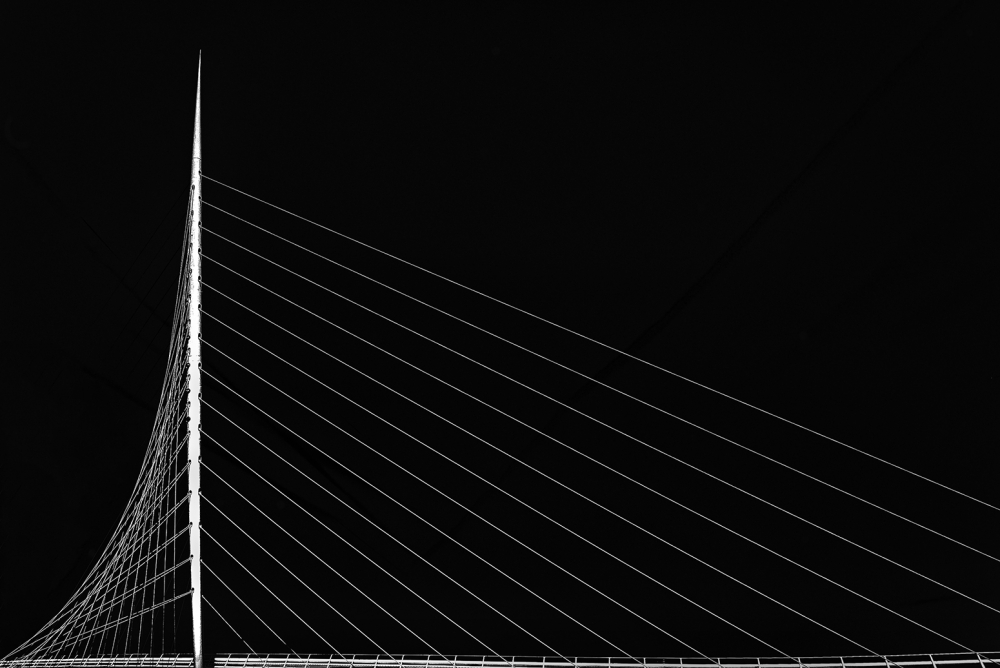 Fotokonst Calatrava's citer