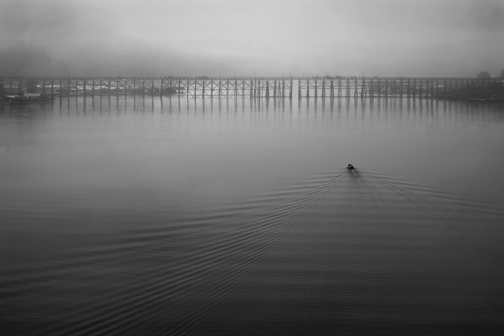 Fotokonst In the silent dawn