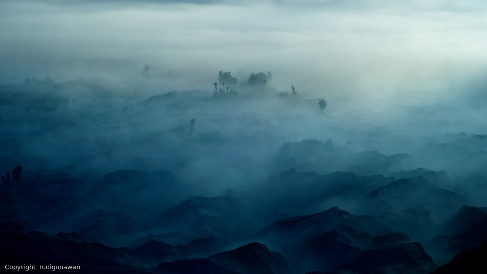Fotokonst Land of Fog