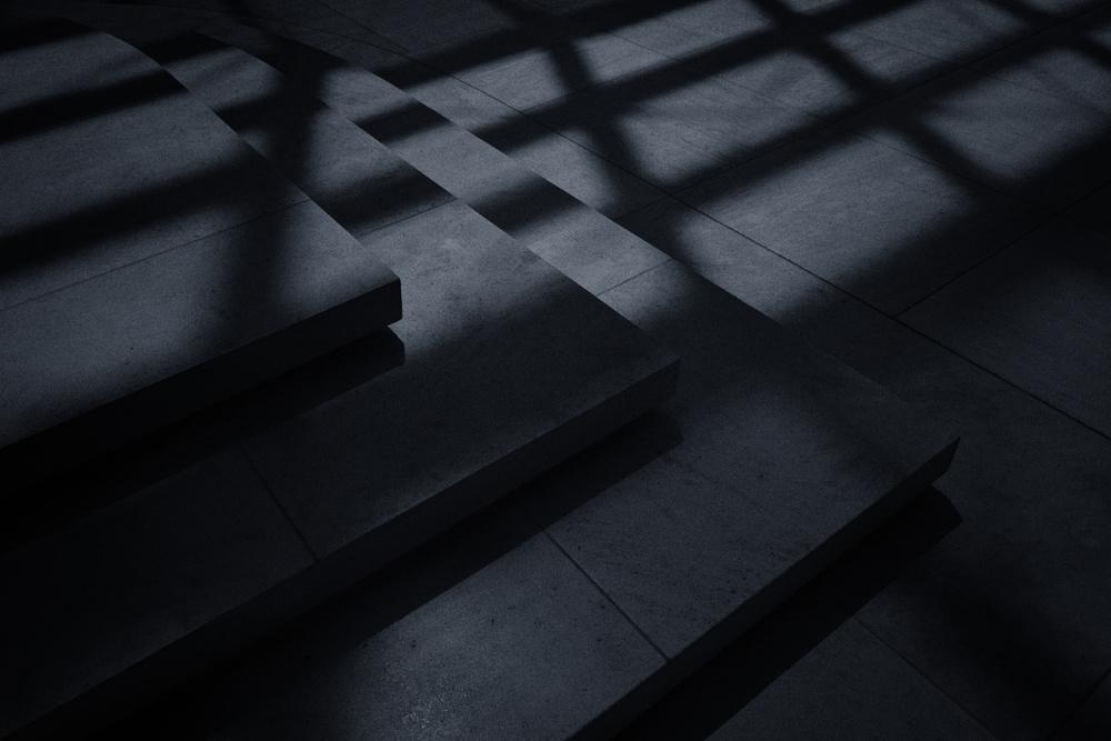Fotokonst Mind your step