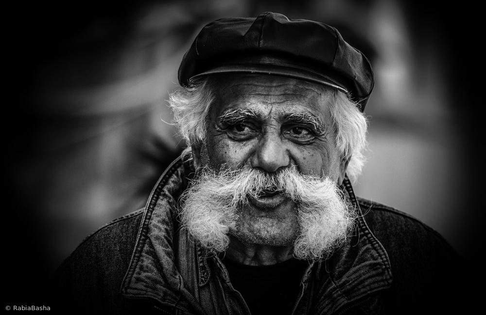 Fotokonst Moustache man