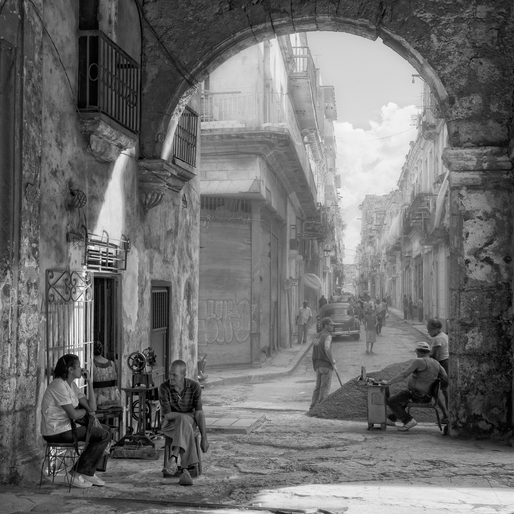 Poster Old Havana by Pencil