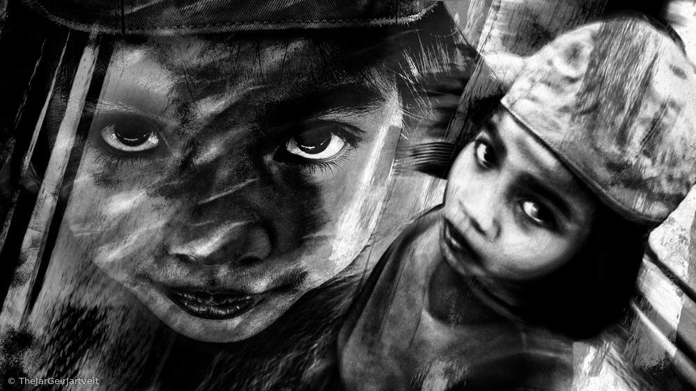 Fotokonst THE SPIRIT OF A CHILD