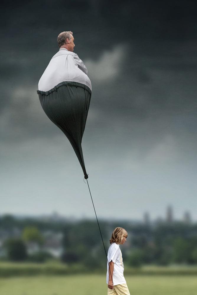 Poster Walking grandfather (LOL)